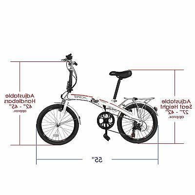 Xspec 7 City Mini Compact Bike