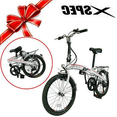 Xspec City Bike Bicycle White