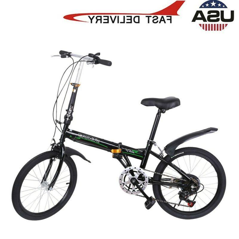 Full suspension Folding Bike Speed Bicycle Disc Bikes MTB