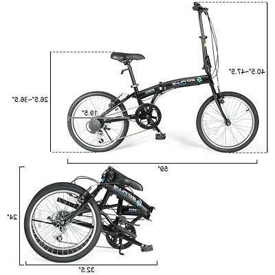 """20"""" Folding Bike Kids Iron"""