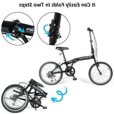 "20"" Bike Adult Iron Frame Dual V-Brakes"