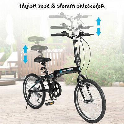 "20"" 7-Speed Bike Lightweight Iron"
