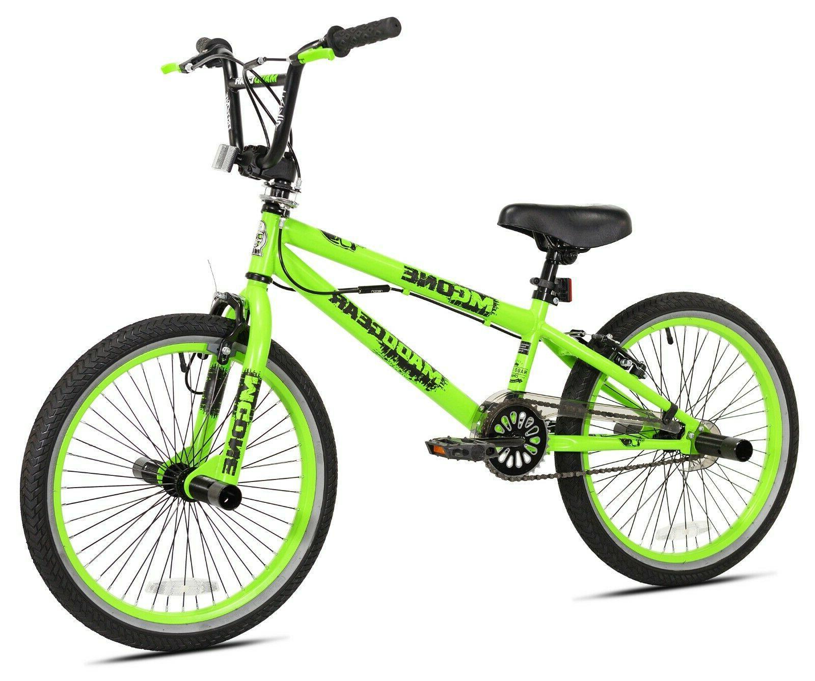 20' Boys Madd Gear Freestyle/BMX Bicycle, Green