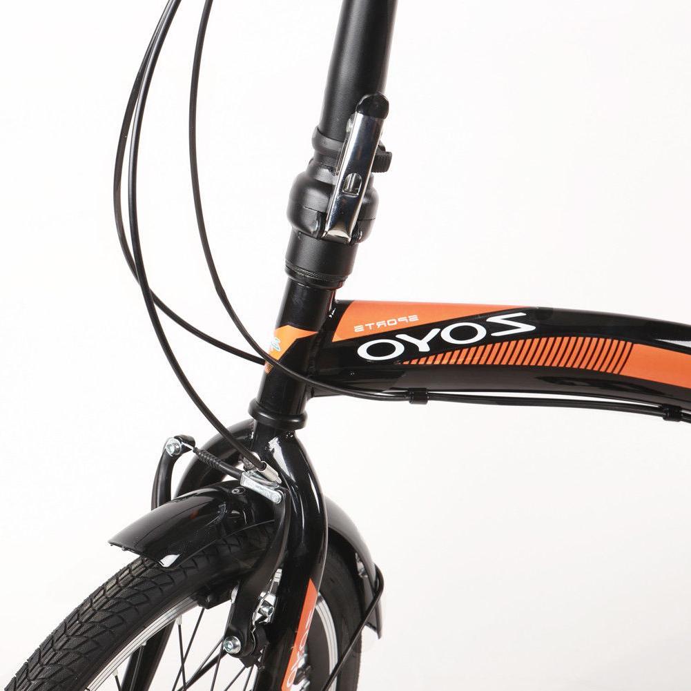 ZOYO Folding Folding Bicycle 7Speed