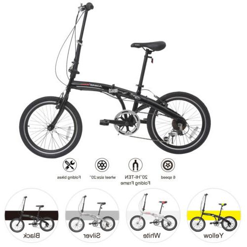 20 folding mountain bike front suspension 6