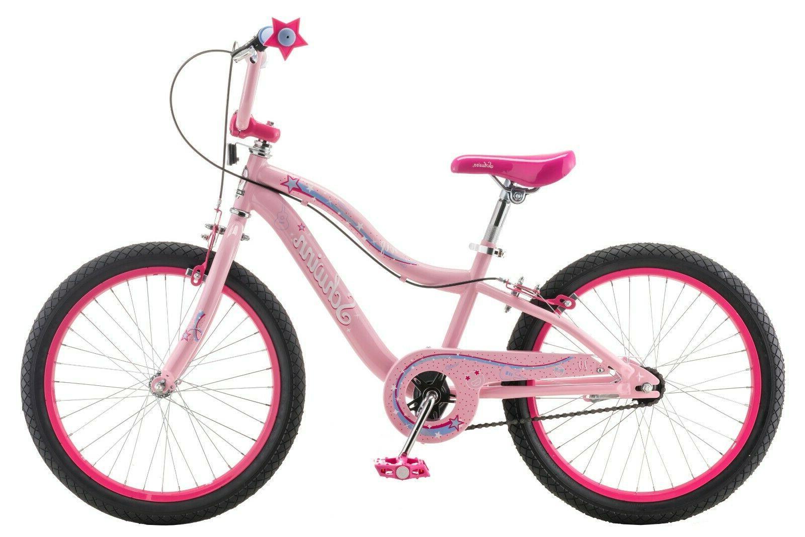 "20"" Kids Sidewalk Girls Wheels Bicycle Speed Schwinn"