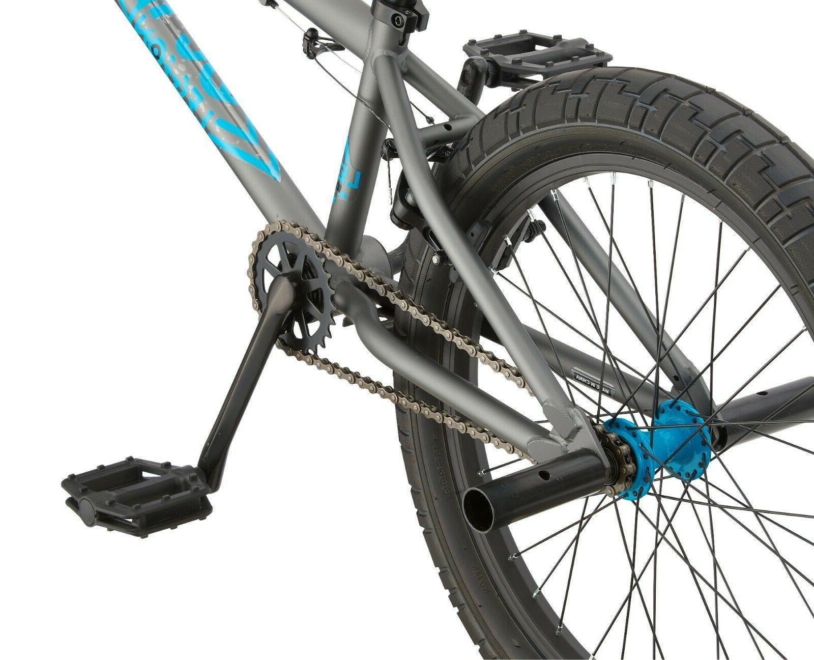 Mongoose Legion BMX Freestyle Bike-Grey