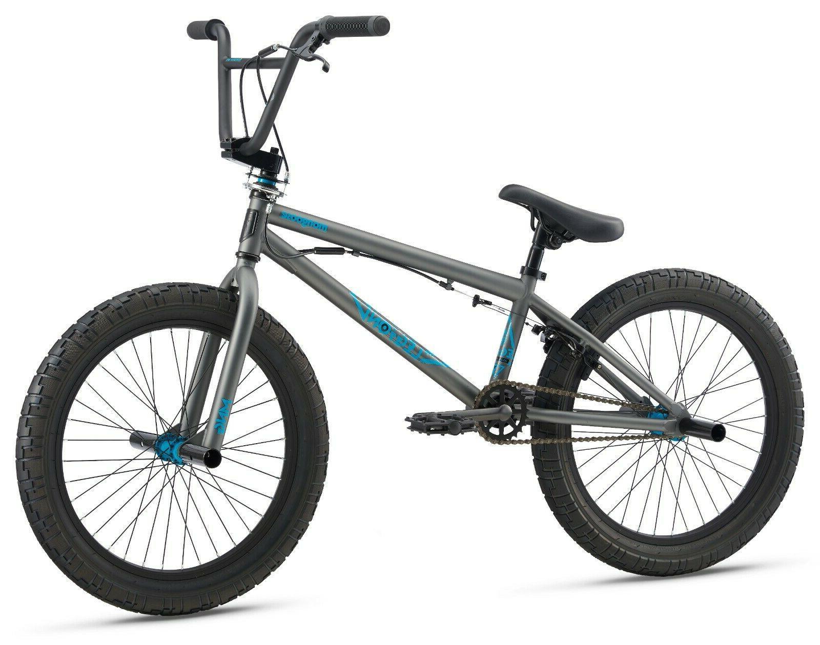 20 legion l20 bmx freestyle bike grey