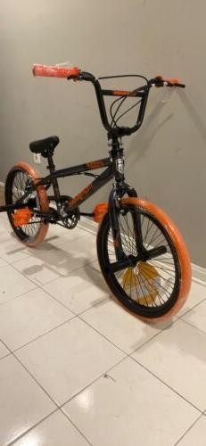 "Mongoose 20"" Outerlimit BMX Bike, Dark Grey/Orange - Brand N"