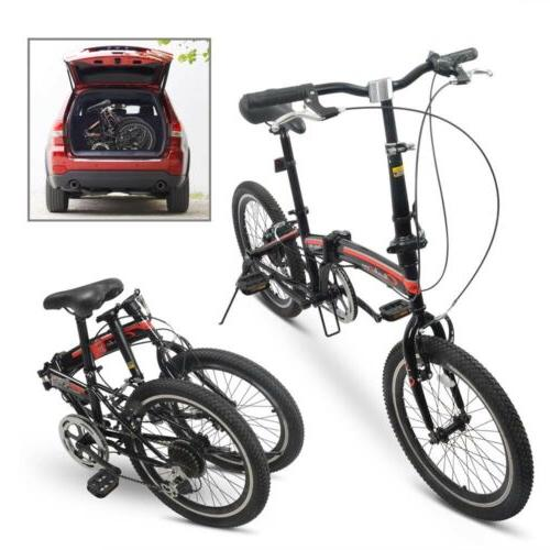 "20"" Wheel Folding Bicycle Sport"