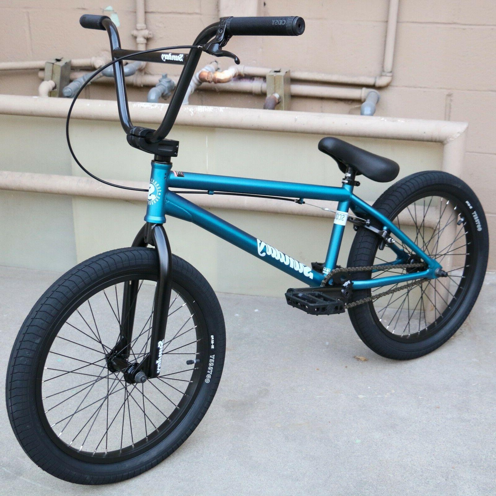 "2018 SUNDAY BIKE BMX SCOUT 20"" TRANS TEAL BICYCLE FIT CULT P"
