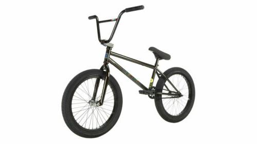 """2019 Fit Mac Man 20"""" Complete BMX Bike 20.25""""TT Pac Black"""