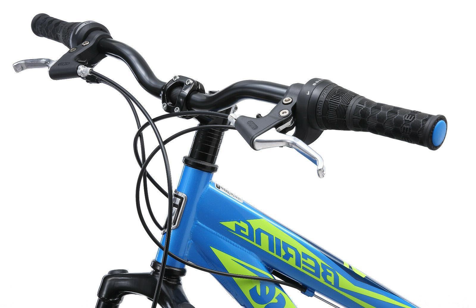 Mongoose Mountain Bike-Blue