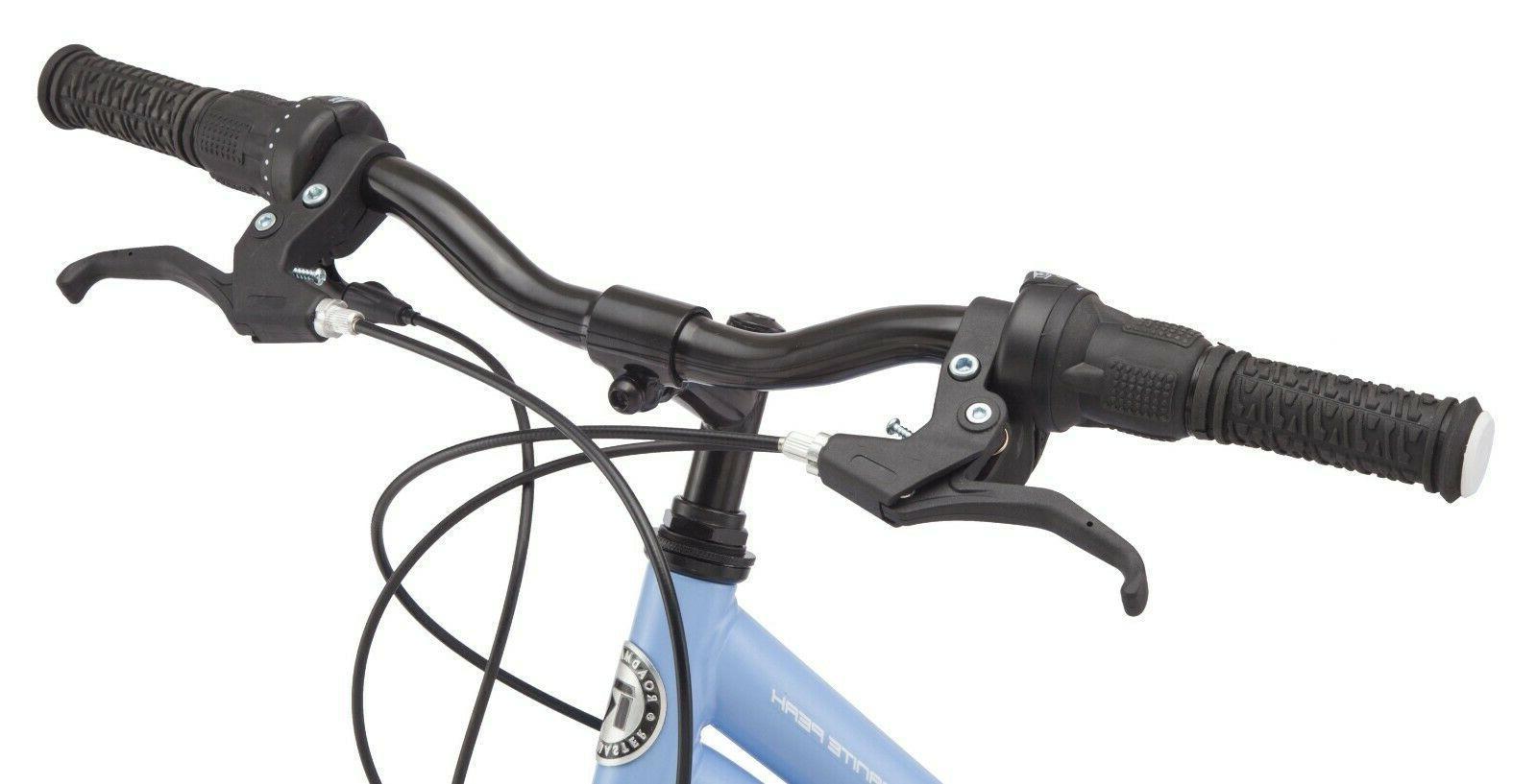 "24"" Roadmaster Blue Steel Frame 18 Speed"