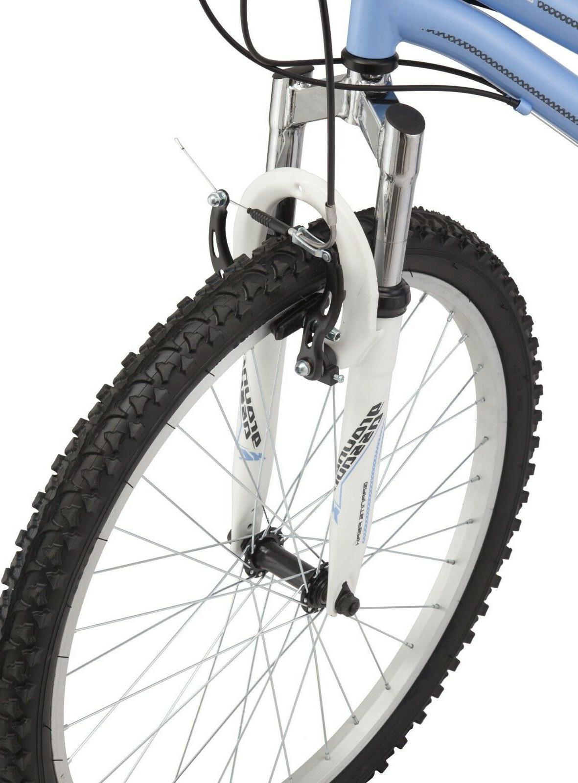 """24"""" Roadmaster Granite Girls Bike Light Blue Frame Speed"""