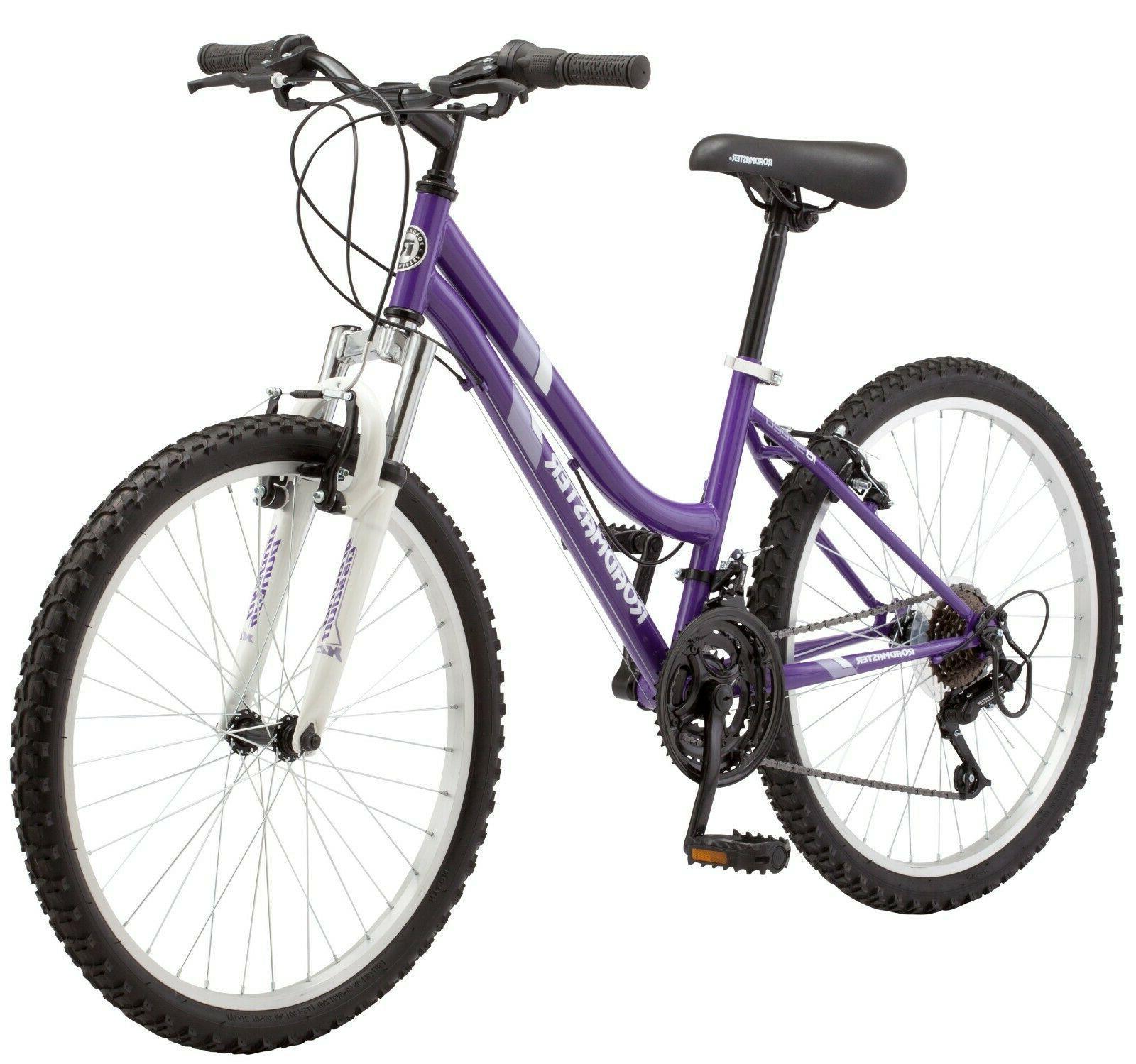 """Roadmaster Granite Girls Mountain Bike, 24"""" wheels, !"""