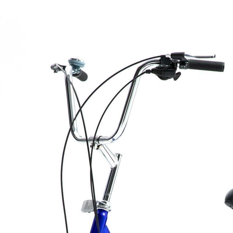 24 Inch Trike Speed Blue Shopping