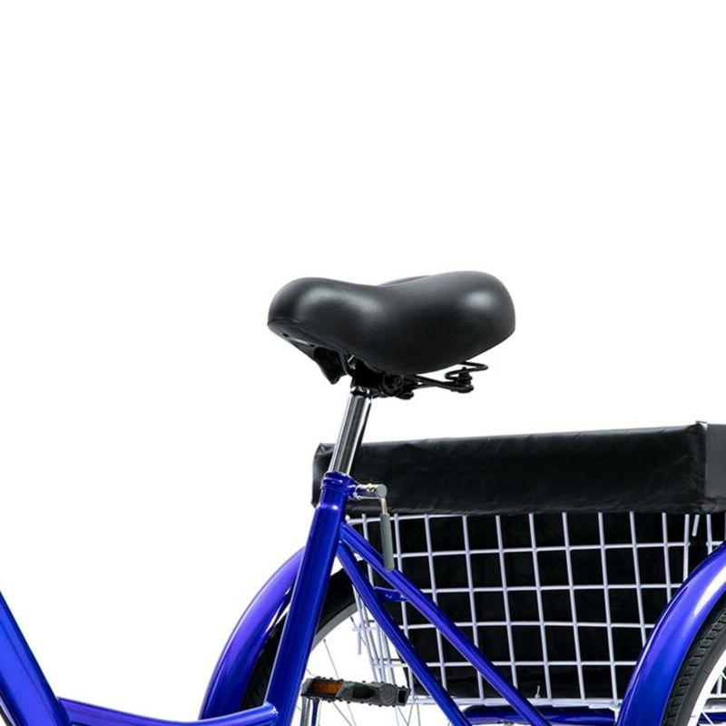 24 Trike Speed Adult Blue for Shopping
