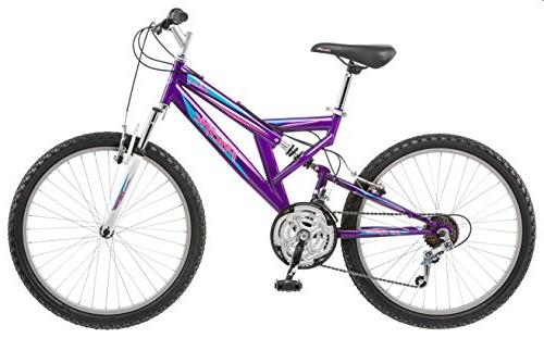 Girl's 24 Shire Full Suspension Mountain Bike