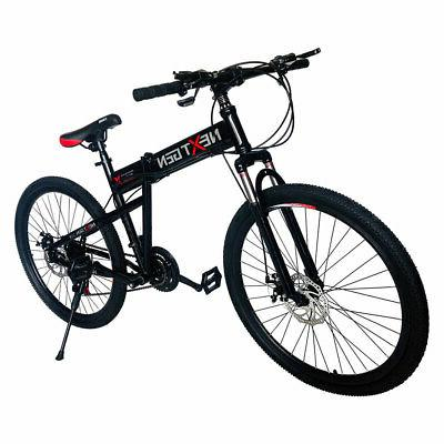 26 21 speed shimano foldable hardtail downhill