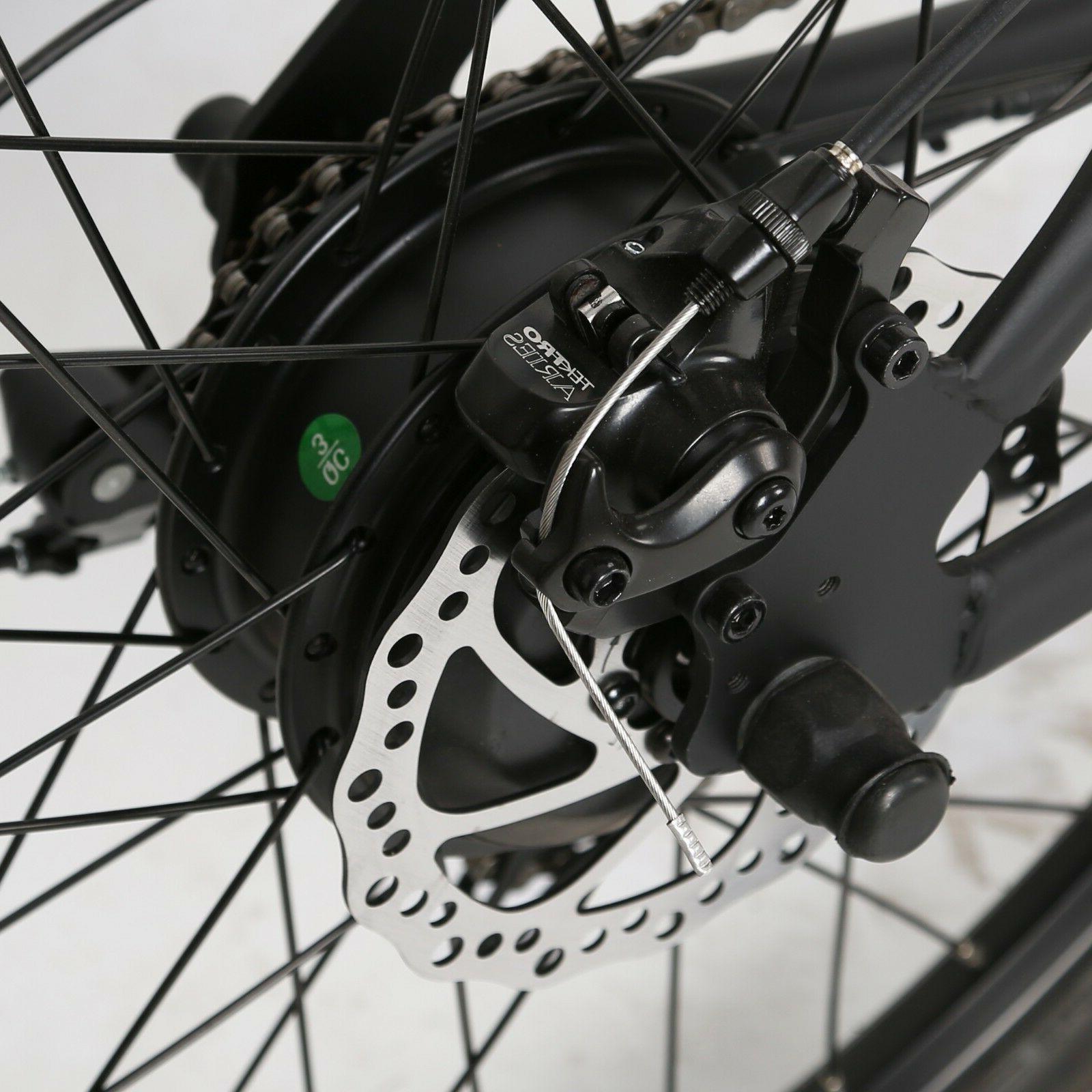 "26"" 36V Electric City e-Bike Shimano Assist"