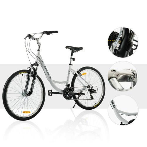 """26"""" Aluminum Bike 21 Bicycle Suspension"""