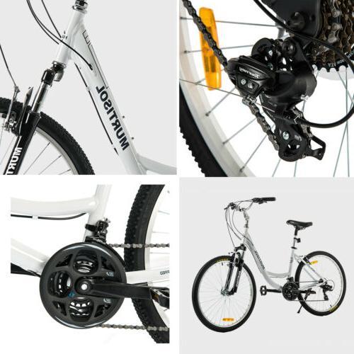 """26"""" Aluminum Women Road Bike 21 Bicycle"""
