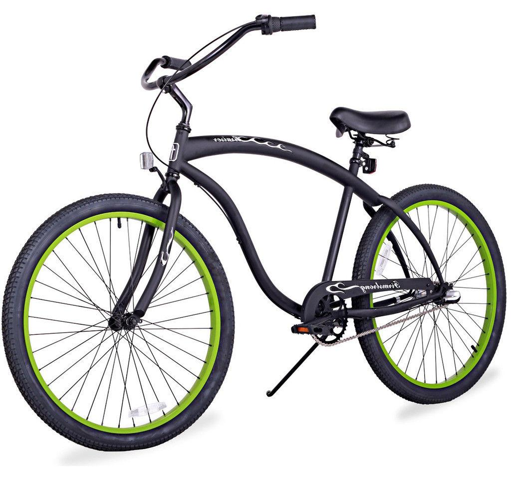 "26"" Beach Cruiser Bicycle Firmstrong Bruiser Men 3 spd whit"