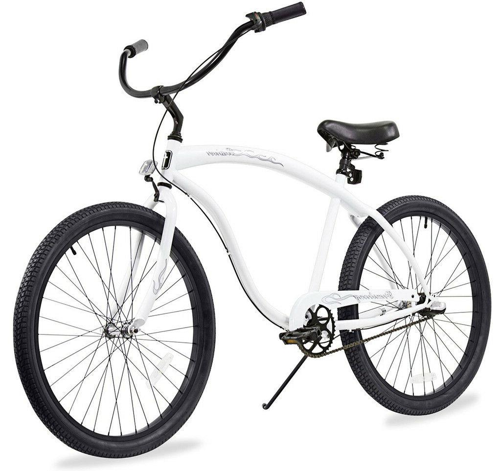 """26"""" Beach Bicycle Firmstrong Bruiser matt black w rims"""