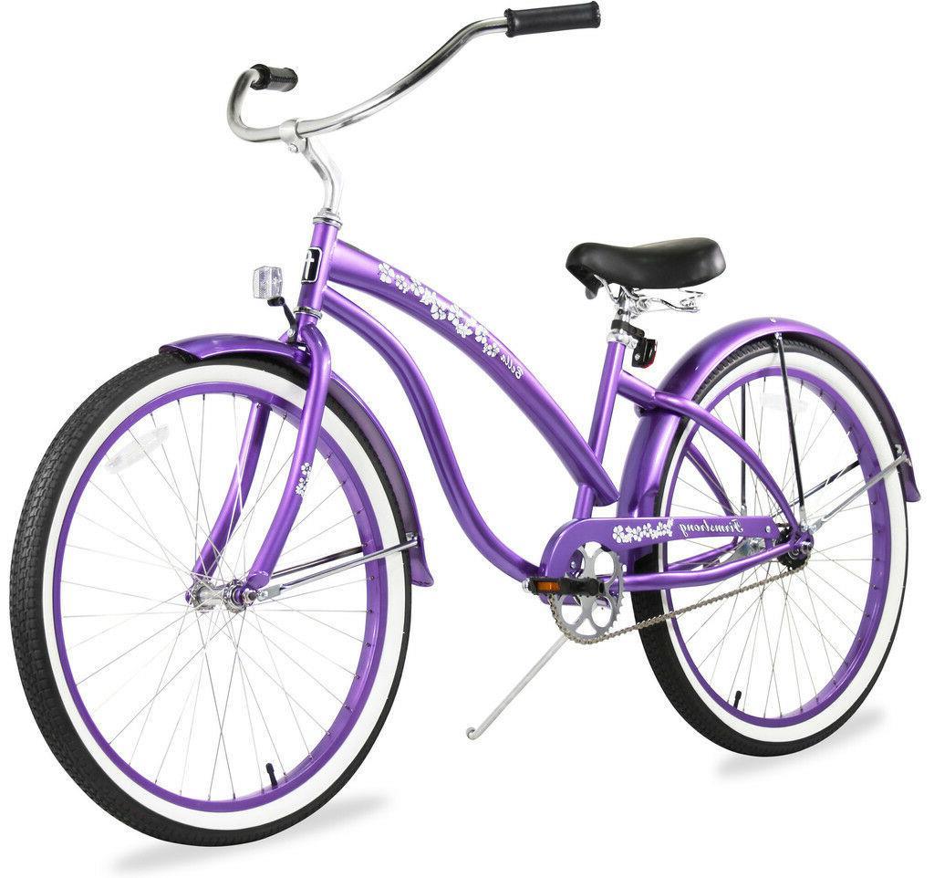26 beach cruiser bike bella classic lady