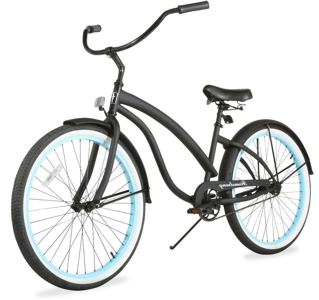 "26"" Beach Cruiser Bike Firmstrong Bella Fashionista LadyMa"