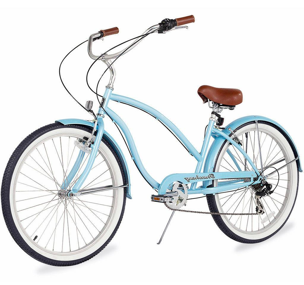 "26"" Beach Cruiser Bicycle 7 spd"