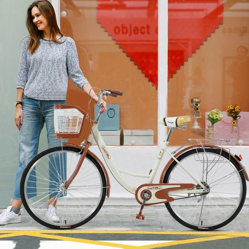 "🔥 26"" Bicycle Women's Bike Beige 🔥BRAND FREE"