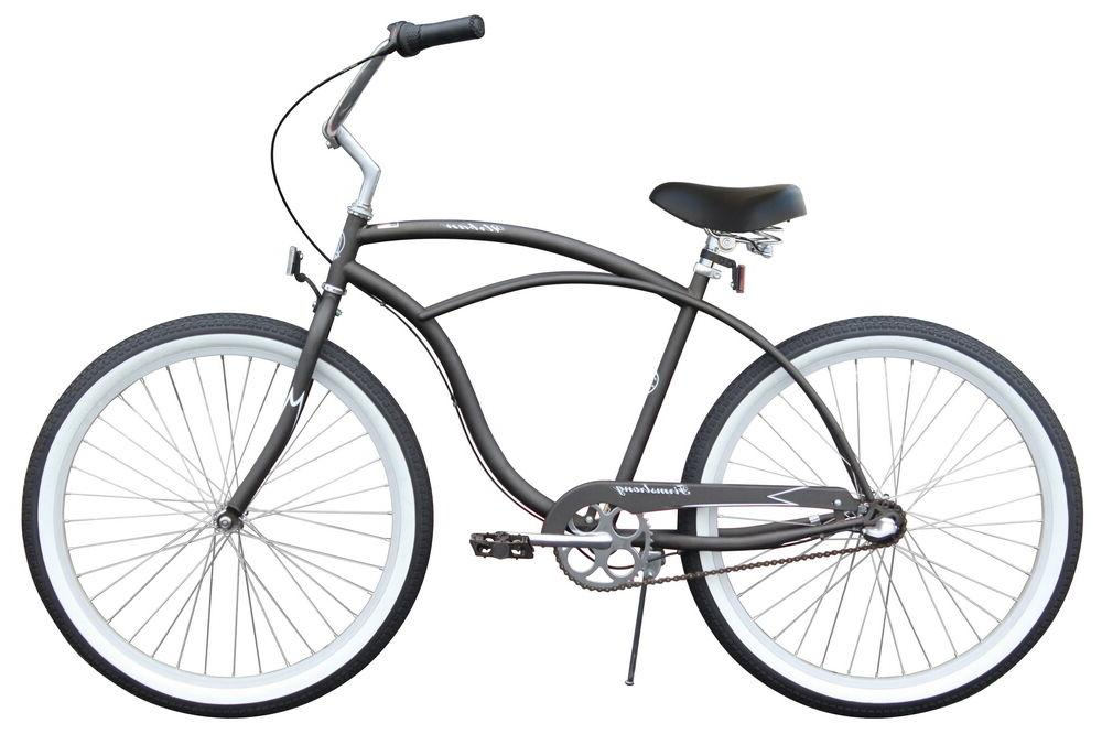 "26"" Beach Cruiser Bike Bicycle Firmstrong Urban Men 3 SPD Bl"