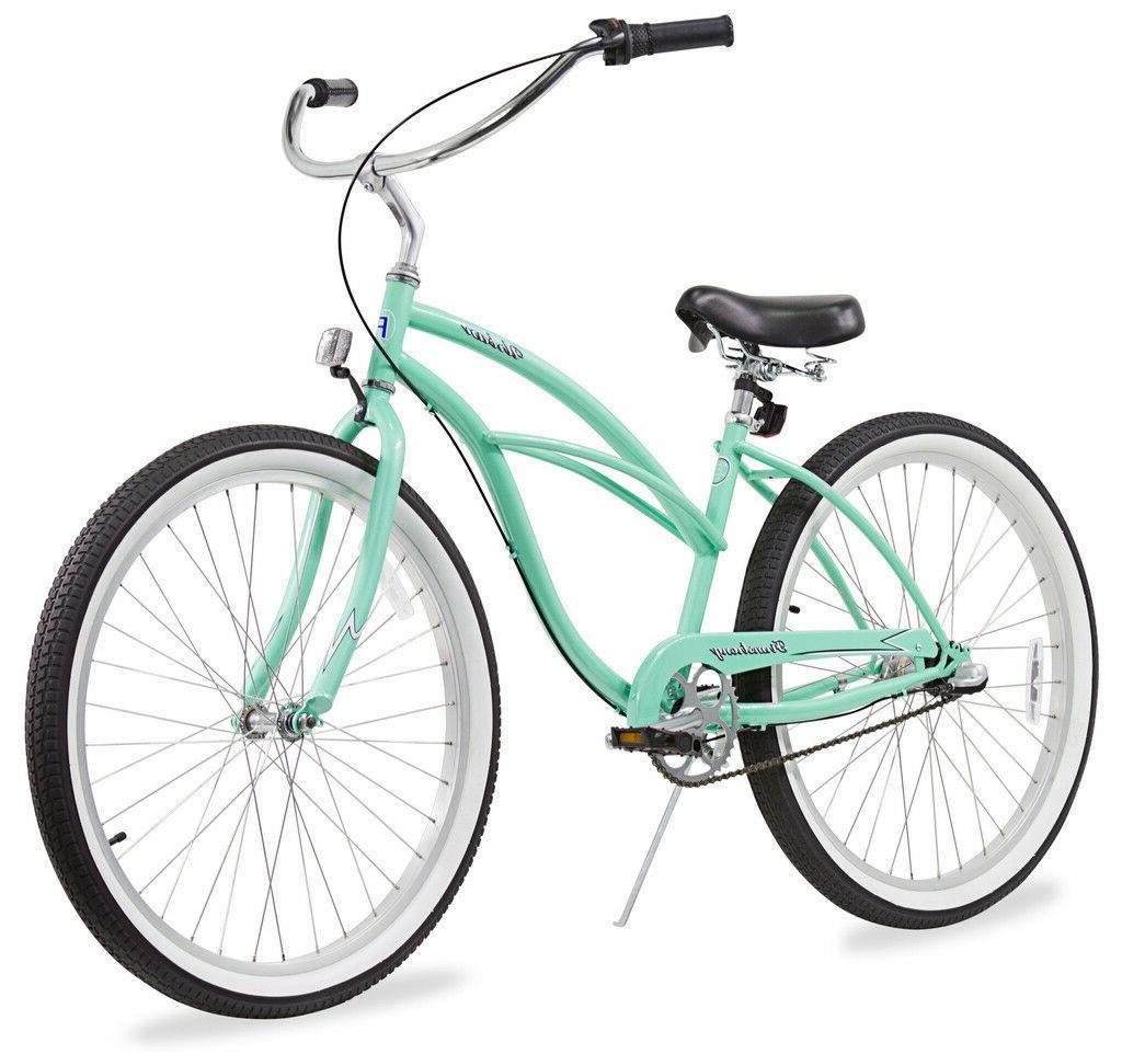 "26"" Beach Cruiser Bicycle Firmstrong Urban spd Blue"