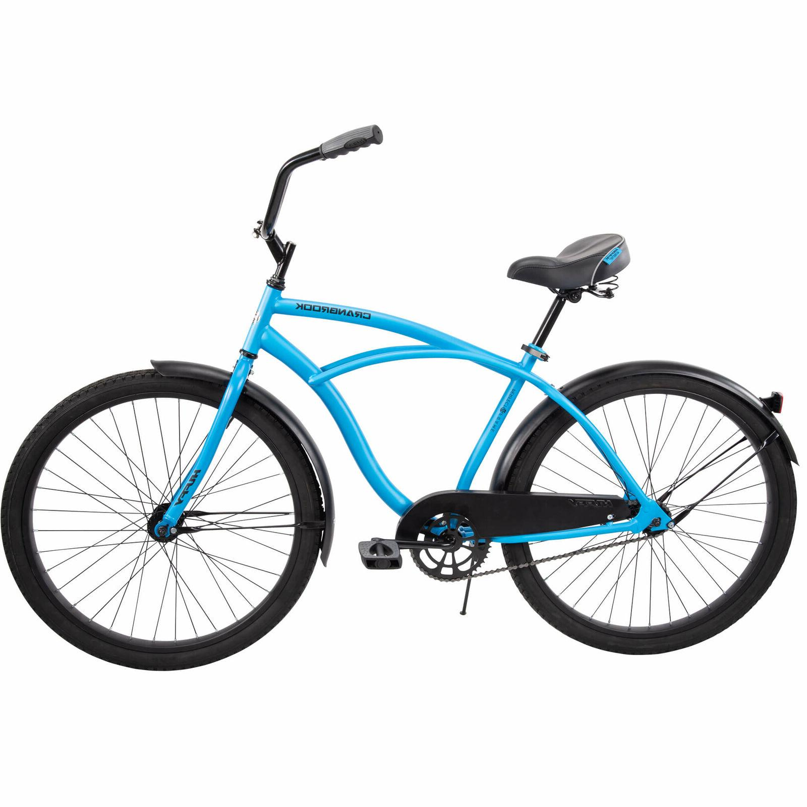 HUFFY COMFORT CRUISER BIKE, MATTE BLUE HAND FAST*