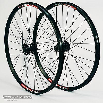 """Shimano XT M756 hubs,Mountain Bike Wheel Set MTB 26/"""" DT Swiss E540 Black"""