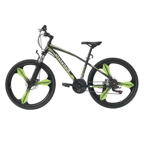 21 speed mountain bicycle shimano suspension disc