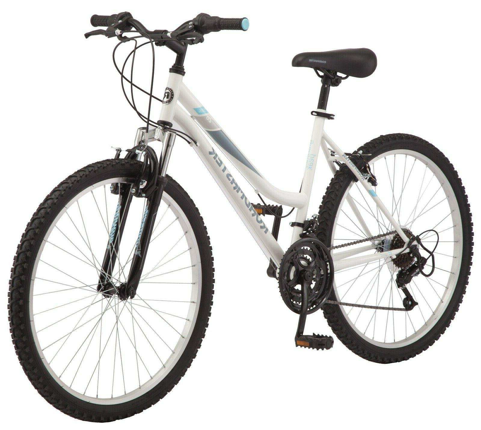 "Roadmaster 26"" Granite Peak Women's Mountain Bike, White"