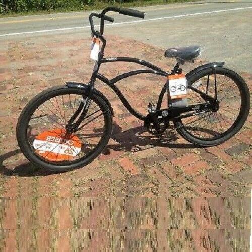 26 in mens beach cruiser bike bicycle