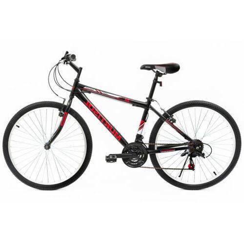 26 mountain bike hybrid 18 speeds front