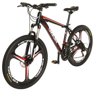 "Vilano 26"" Mountain Bike Ridge 2.0 MTB 21 Speed with Disc Br"