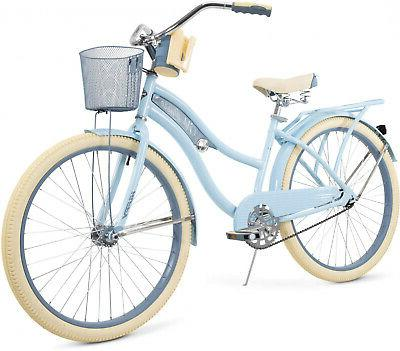 "Huffy 26"" Womens Nel Lusso Cruiser Bike with Perfect Fit Fra"