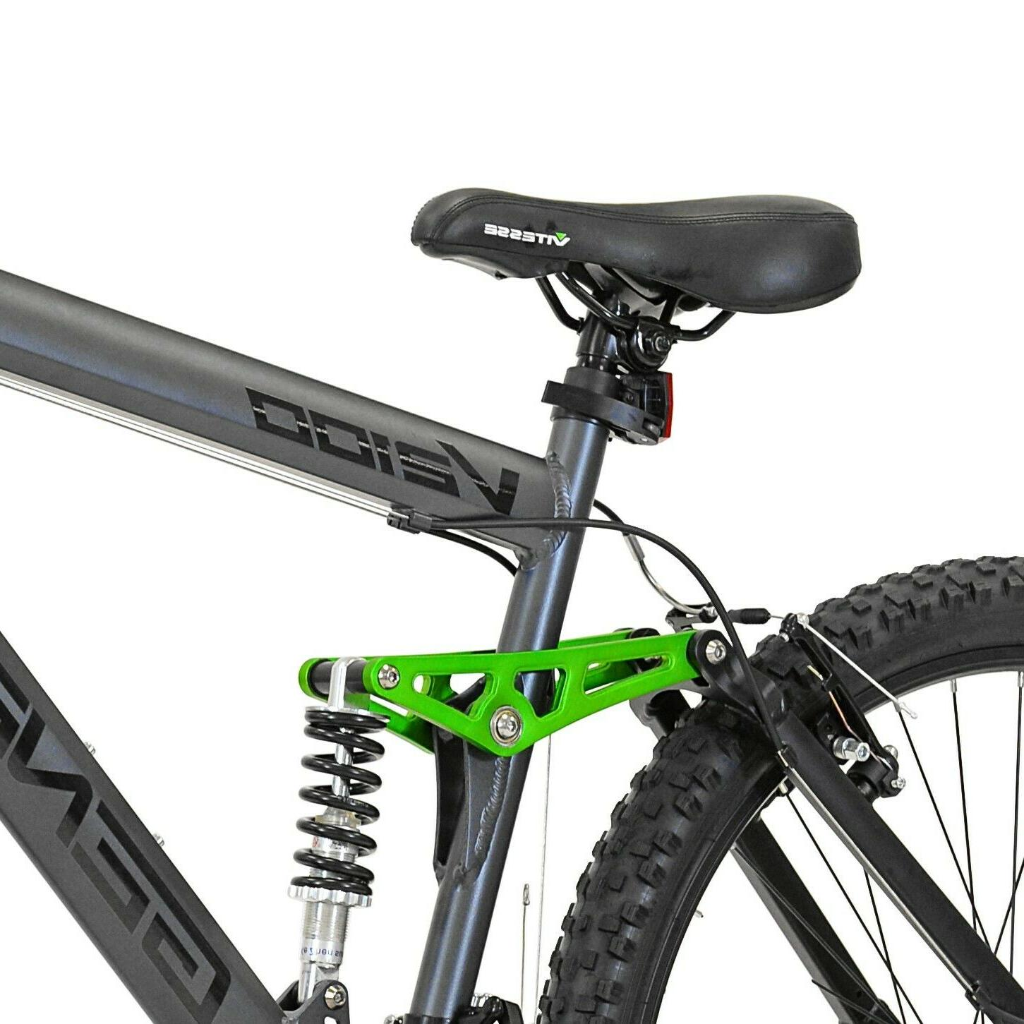 "Genesis 26"" V2100 Men's Dual Mountain Bike Slate Gray"