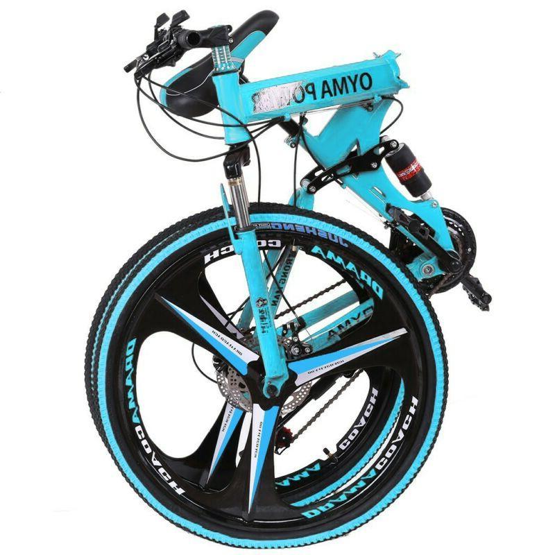 26in Folding Mountain Bike Bicycle MTB Bikes