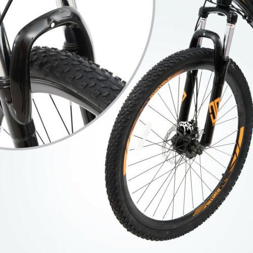 "27.5"" Mountain Bike Front Speed Disc Yellow"