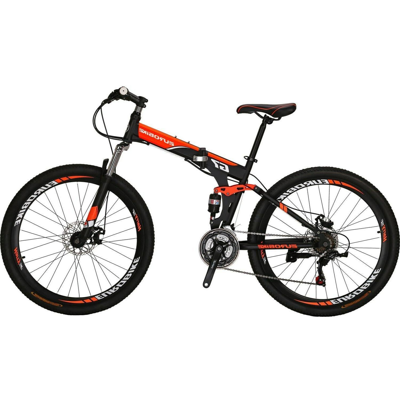 """27.5"""" 21 Mens Bikes Foldable"""