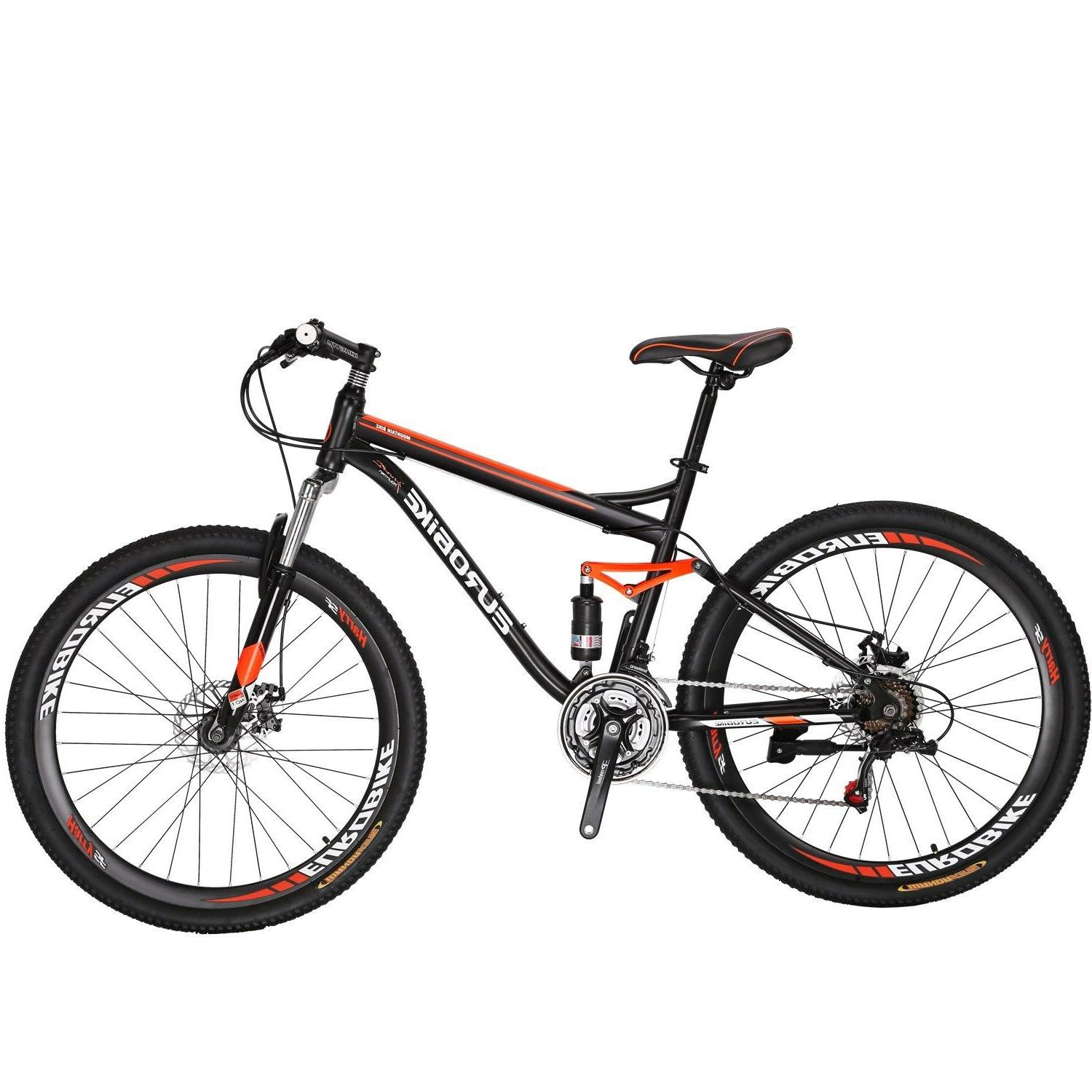 "27.5"" Full Bike Shimano Speed Men's Bikes"