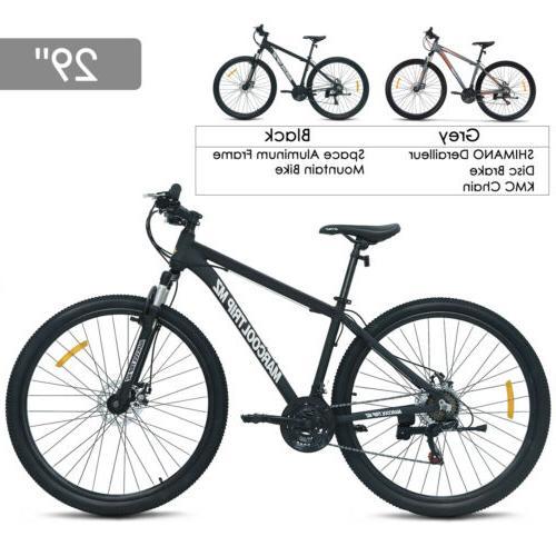 29 aluminum frame men s mountain bike