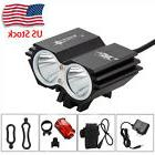 SolarStorm 8000lm 2xT6 LED Front Bicycle Light Bike Headlamp